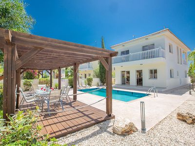 Photo for Villa Jodie, Lovely 3BDR Ayia Napa Villa with Pool, Close to Nissi Beach