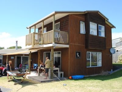 Photo for Riversdale Beach House - Large, spacious family bach close to the beach