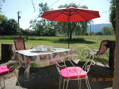 Photo for Cottage at the foot of Mont Ventoux, disabled access between Monieux and Sault