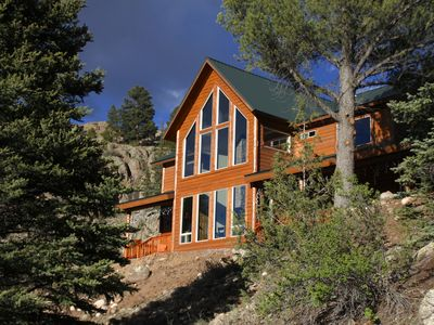 Photo for Stunning 4BR Riverfront Home with amazing Rio Grande vistas!