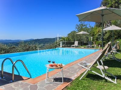 Photo for Villa Dell'Angelo 14  with pool, ac and views