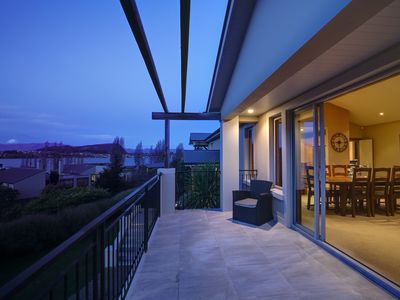 Photo for Chic and charming | Panoramic mountain views | Balconies and BBQ