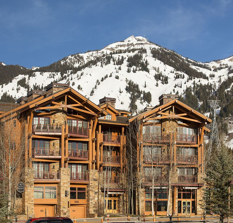 Top Ski In Ski Out Accommodations In Jackson Hole Wyoming