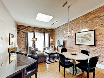 Photo for Newly Remodeled! Chic Downtown Apartment -- 2 Blocks to Pack Square