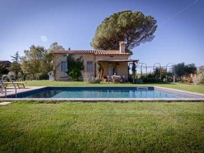 Photo for Private cottage in the countryside with 2BR and 2BA, private pool