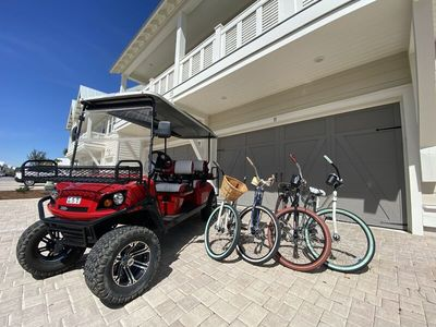 """Photo for Prominence on 30A - Golf Cart Included - """"Tipsea Kitty"""" - Virtual Tour"""