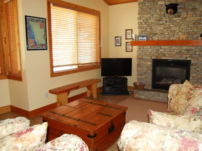 Photo for Ski-To/Ski-From Condo with Fireplace | Shared Hot Tub + Sauna