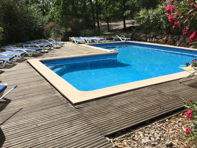 Photo for VILLA SWIMMING POOL 12 PERS LORGUES GORGES OF THE VERDON HIGH VAR PROVENCE SAINTE CROIX