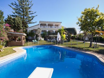 Photo for 8-bedroom Marbella Villa with a Private Pool and Beach within walking distance
