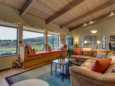 Photo for Private hot tub, shared pool, and ocean views at this peaceful Sea Ranch home!
