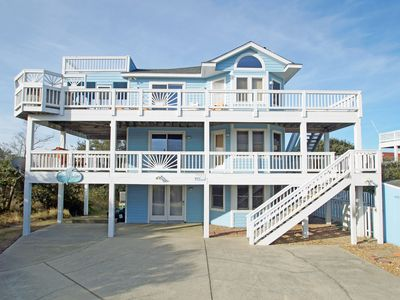 Photo for OCEANSIDE HOME - 6 BRs, Private Pool, Hot Tub, Air Hockey, and Dog Friendly!
