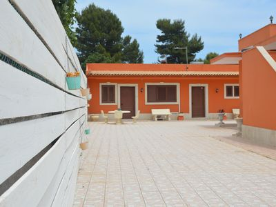 Photo for Villa Adriana Noto - Residence with kitchen and private bathroom.
