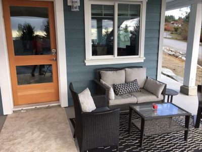 enjoy a favourite beverage from your covered patio