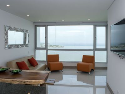 Photo for Beautiful 2 BR Sunset Apartment on the Beach