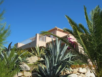 Photo for Recent villa, 4 bedrooms, superb sea and mountain views,