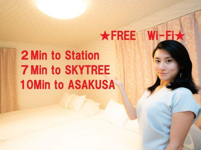 Photo for The nearest station 2 minutes on foot F / Sumida-ku Tokyo