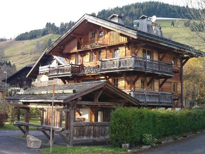 Photo for Very nice chalet located in the center of Megève