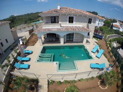 Photo for Villa NOAH: 5* stone house, heated indoor/outdoor pool, jacuzzi, sauna, fitness