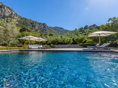 Photo for Great mallorcan country villa with large outdoor space with pool