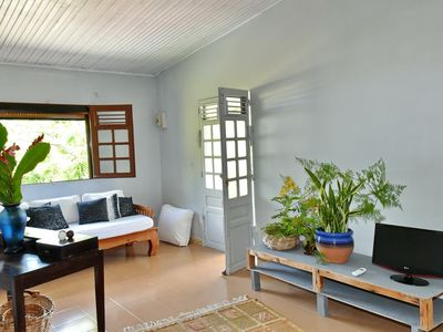 Photo for The Mango House up in the hills of the Carbet with a sea view