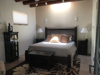 Master Suite 1 - king bed, TV and AC