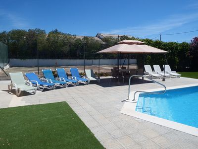 Photo for Villa Lara, Spacious 5 bedroom house with heated pool, free Wifi ,secure parking