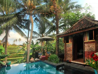 Photo for Casa with Intimate Romantic Pool, Canggu