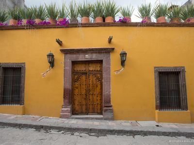 Photo for Gorgeous Casita Fuego 1/2 block from the Jardin and Parroquia!!