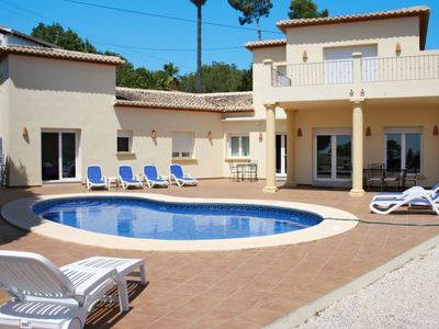 Photo for Vacation home Ferienhaus mit Pool (MRA416) in Moraira - 8 persons, 4 bedrooms