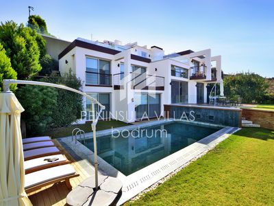 Photo for LUXURY Yalikavak Villa with Private Pool, Palmarina Bodrum, 5 Bedrooms