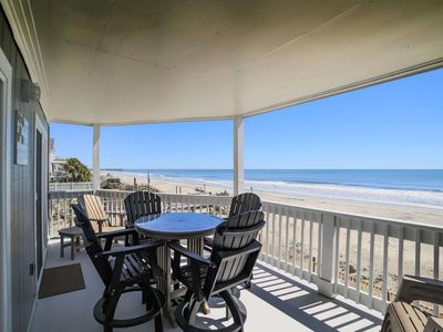 Photo for The Beach is Right Off Your Balcony! First Floor 3BR at Lighthouse 11 #1