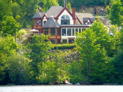 Photo for Lakefront Luxury Victorian Cottage at 45 Minutes From Montreal