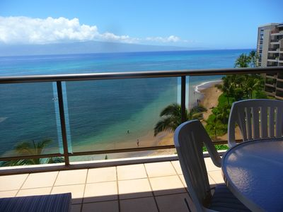 Relax on our oceanfront lanai and whale-watch in the Winter months.