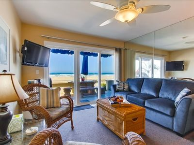 Photo for Casa de la Playa 3677, ground floor, oceanfront