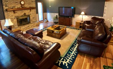 Photo for Sonora Pines, SUMMER SPECIAL, 30 Minutes to Razorback Stadium, WIFI, Fire Pit, Decks, 5 Minutes to B