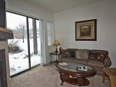 Photo for Beautifully  Condo,  With Gorgeous Views, Fireplace, Pool Spa