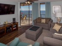 Place is clean and comfortable with great views of the beach.