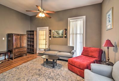 Four people will feel right at home in this spacious vacation rental.