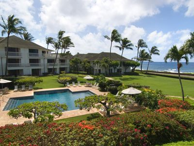 Photo for Poipu Kapili #15: Panoramic Ocean views with Air Conditioning!