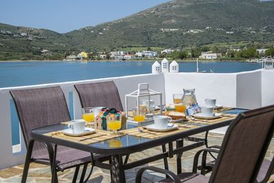 Start the day with breakfast in the sun on your own private veranda.