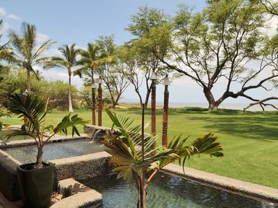 Photo for AlohaAKU Bamboo2 Suite, Beachfront, 1B/1Bath, LR w/ Full Kit, Lanai, Wifi, AC