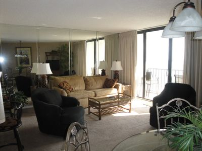 Photo for EDGEWATER BEACH RESORT/ BEACHFRONT 2 BR, 2 BATH WITH GREAT GULF VIEWS  & SUNSETS