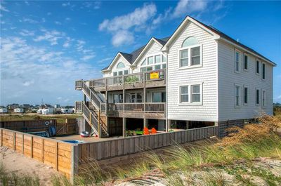 Remarkable Out The Door Beach Access Oceanfront Rodanthe Pool Hot Tub Gameroom Tiki Bar Rodanthe Download Free Architecture Designs Osuribritishbridgeorg