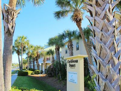 Photo for Caribbean Dunes 203, Just steps to the beach!