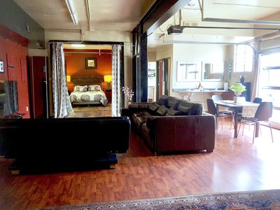 Open Loft Only Blocks from Horton Plaza, Gaslamp and Convention Center