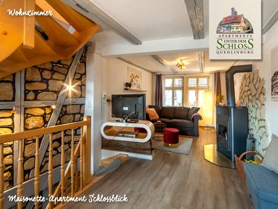 Photo for Feel-good apartment (87m², single monument) in the middle of the old town of Quedlinburg