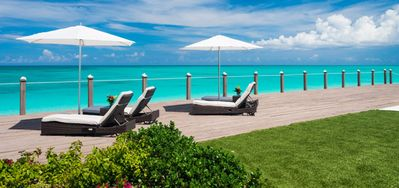 Photo for Villa Sunsara -  Beach Front - Located in  Tropical Grace Bay with Private Pool