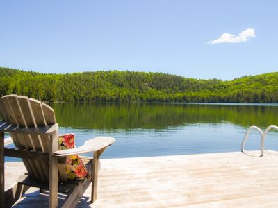 Photo for Flower Moon - Year round waterfront retreat for rent on a beautiful lake - 3 bedrooms
