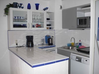 Photo for Vacation apartment in a small complex, with pool, parking space, loggia, terrace