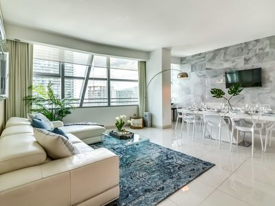 Photo for Sextant's Brickell Condo--3 bedroom at Conrad Hilton, 10 mins to South Beach